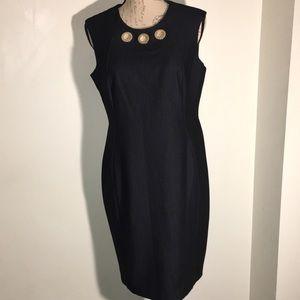 NWT Calvin Klein Soft Denim- Like Dress. Size 12P